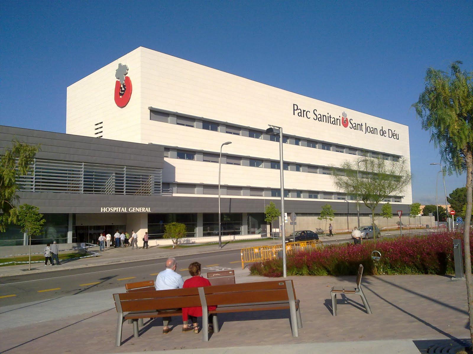 Imatge del Parc Sanitari Sant Joan de Deu a Sant Boi. Font: Sant Boi Notícies.